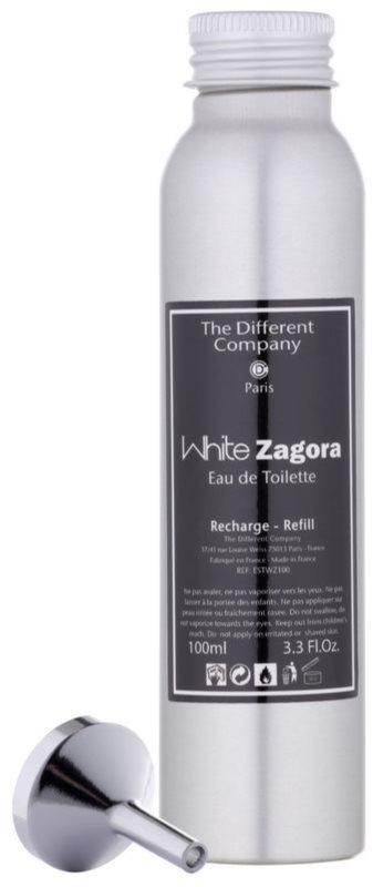 The Different Company White Zagora eau de toilette para mujer 100 ml recarga