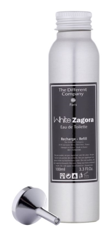 The Different Company White Zagora eau de toilette para mujer 100 ml recarga