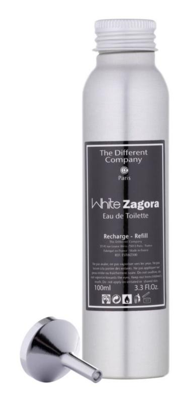 The Different Company White Zagora Eau de Toilette para mulheres 100 ml recarga
