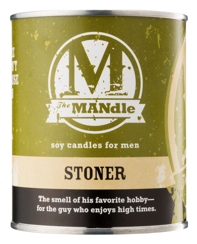 The MANdle Stoner candela profumata 425 g