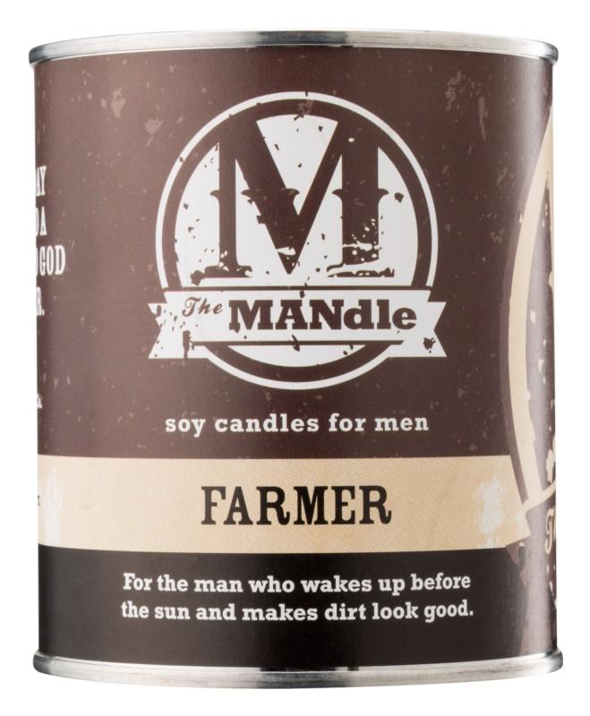 The MANdle Farmer bougie parfumée 425 g