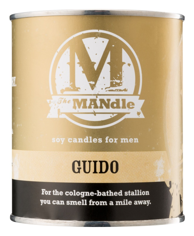 The MANdle Guido bougie parfumée 425 g