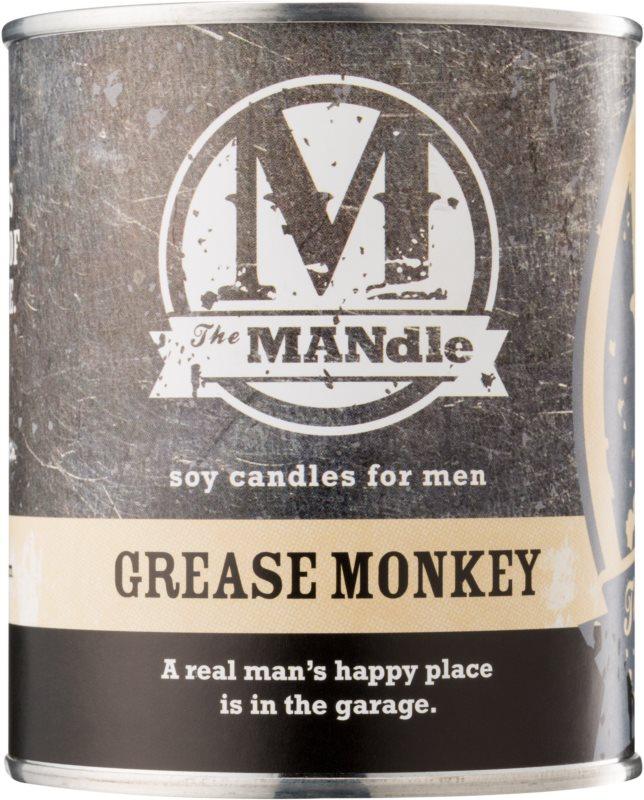 The MANdle Grease Monkey ароматна свещ  425 гр.