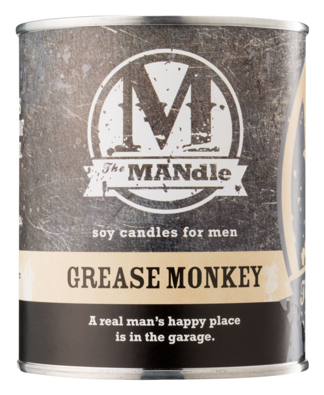 The MANdle Grease Monkey ароматизована свічка  425 гр