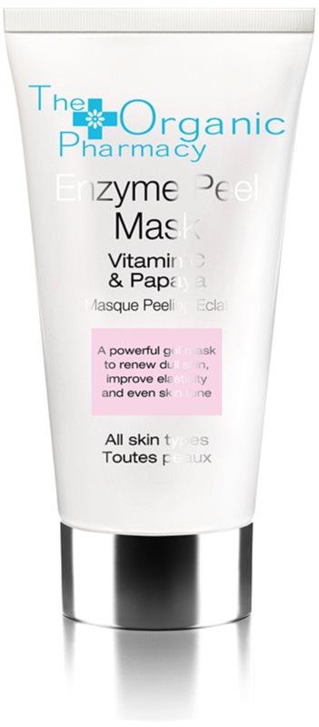 The Organic Pharmacy Skin enzymová pleťová maska s vitaminem C