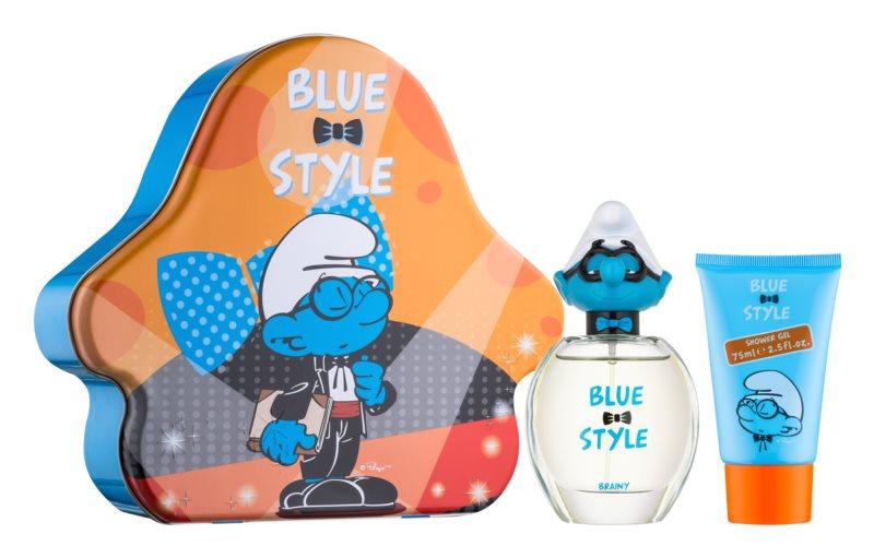 The Smurfs Blue Style Brainy set cadou II.