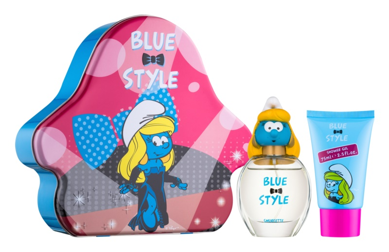 The Smurfs Blue Style Smurfette coffret cadeau I.