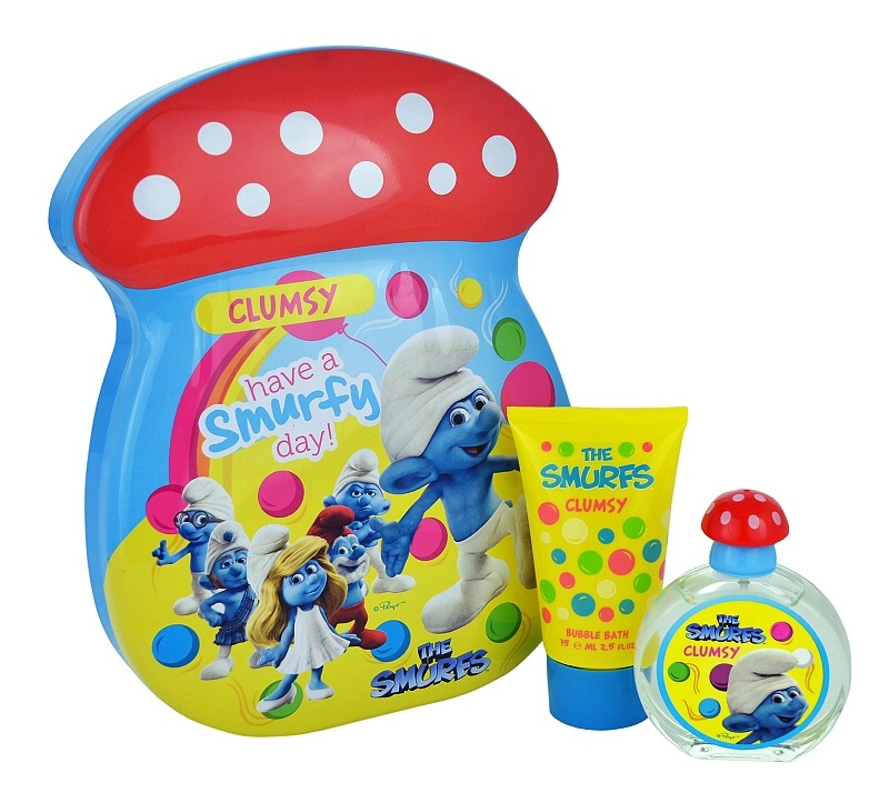 The Smurfs Clumsy set cadou I.