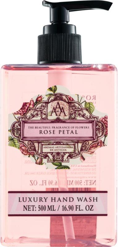 The Somerset Toiletry Co. Rose Petal flüssige Seife für die Hände mit Rosenduft