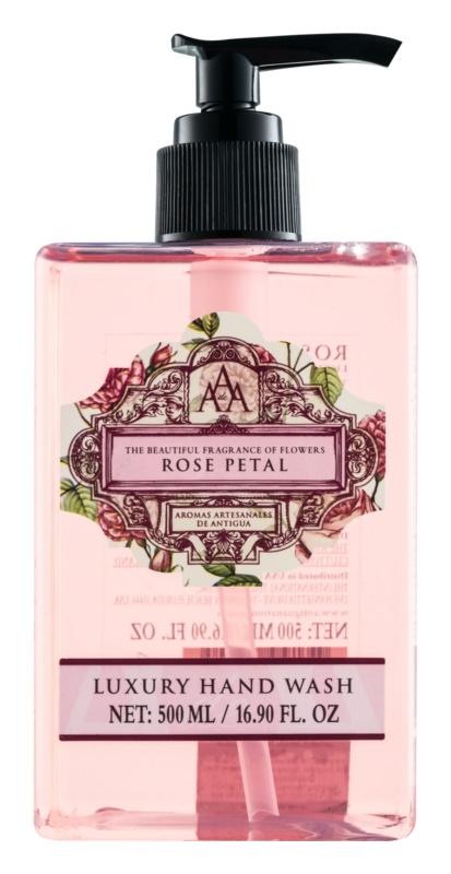 The Somerset Toiletry Co. Rose Petal Săpun lichid pentru mâini cu esente de trandafiri