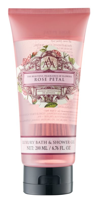 The Somerset Toiletry Co. Rose Petal Dusch- und Badgel mit Rosenduft