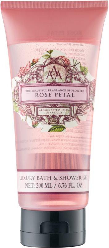The Somerset Toiletry Co. Rose Petal gel de dus si baie cu esente de trandafiri