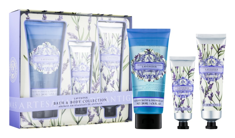 The Somerset Toiletry Co. Lavender Cosmetic Set I.