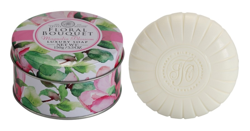 The Somerset Toiletry Co. Floral Bouquet Magnolia Blossom luxuriöse Feinseife