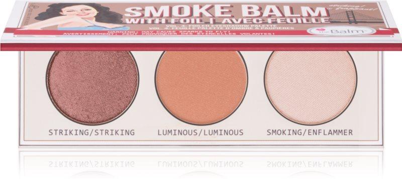 theBalm Smoke Balm with Foil paleta senčil za oči