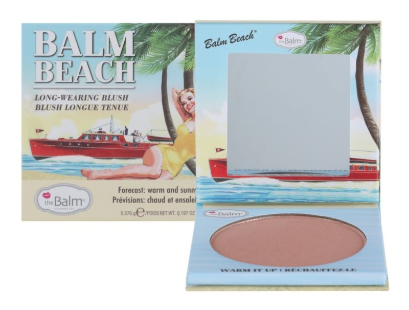 theBalm Balm Beach blush longue tenue