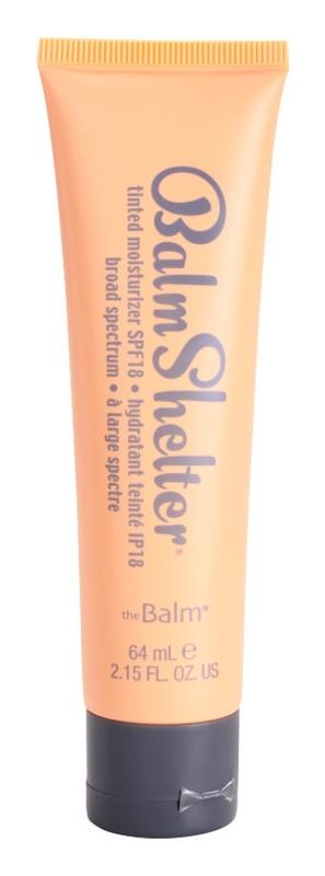 theBalm BalmShelter tónovací hydratační krém SPF 18