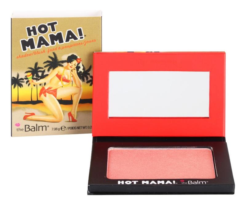 theBalm Hot Mama! tvářenka a oční stíny v jednom
