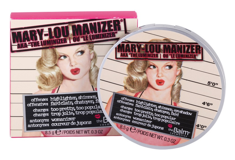 theBalm Mary - Lou Manizer iluminador y sombras de ojos en un solo producto