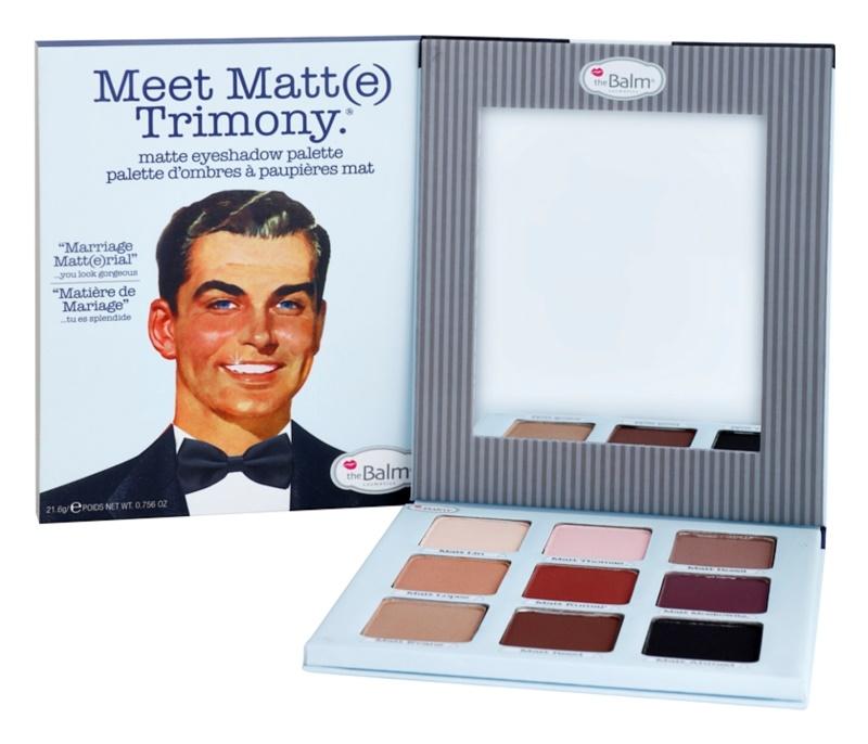 theBalm Meet Matt(e) Trimony paleta cieni do powiek z lusterkiem