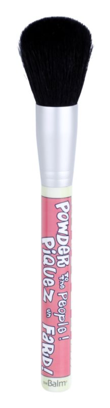 theBalm Powder To The People pincel para pó e blush