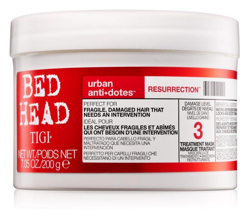 TIGI Bed Head Urban Antidotes Resurrection Regenerating Mask For Damaged And Fragile Hair