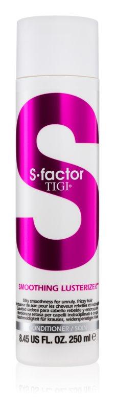 TIGI S-Factor Smoothing Lusterizer après-shampoing pour cheveux indisciplinés et frisottis