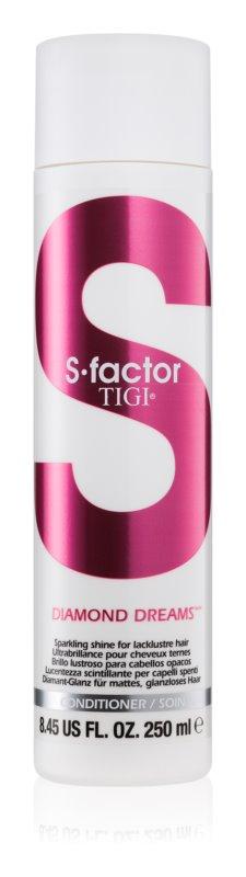 TIGI S-Factor Diamond Dreams balzam za sijaj in mehkobo las