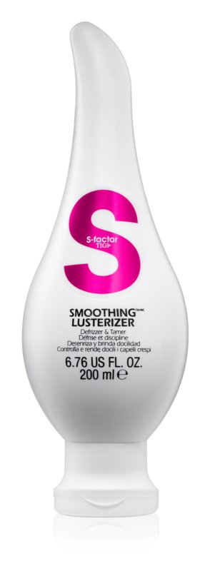 TIGI S-Factor Smoothing Lusterizer Defrizzer & Tamer For Thick, Coarse And Dry Hair