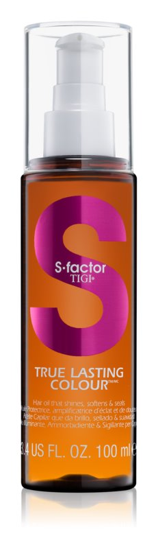TIGI S-Factor True Lasting Colour olejová péče pro barvené vlasy