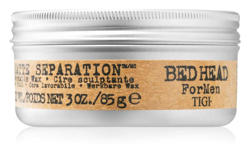 TIGI Bed Head For Men Separation™ cire matifiant pour cheveux