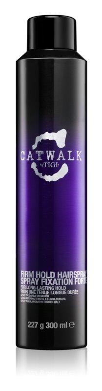 TIGI Catwalk Your Highness лак за коса със силна фиксация за дълготрайно фиксиране