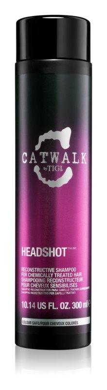 TIGI Catwalk Headshot регенериращ шампоан  за химически третирана коса