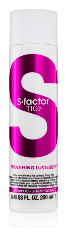 TIGI S-Factor Smoothing Lusterizer Shampoo For Unruly And Frizzy Hair