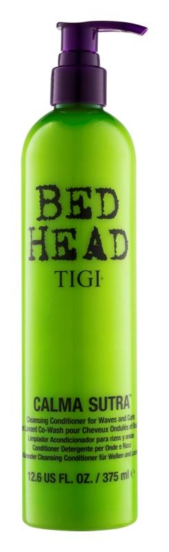 TIGI Bed Head Calma Sutra čistiaci a hydratačný kondicionér pre vlny a kučery
