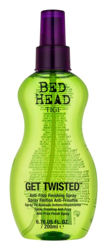 TIGI Bed Head Get Twisted lakier do finalnej stylizacji przeciwko puszeniu się włosów