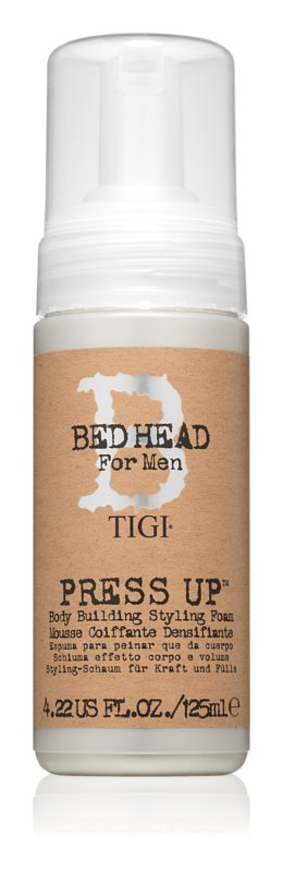TIGI Bed Head B for Men stylingová krémová pena silné spevnenie