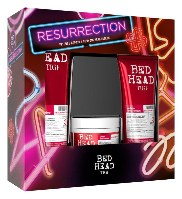 TIGI Bed Head Resurrection Kit dárková sada IV. (pro poškozené a křehké vlasy)