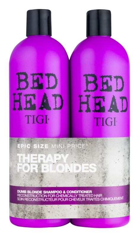 TIGI Bed Head Dumb Blonde kosmetická sada VII.
