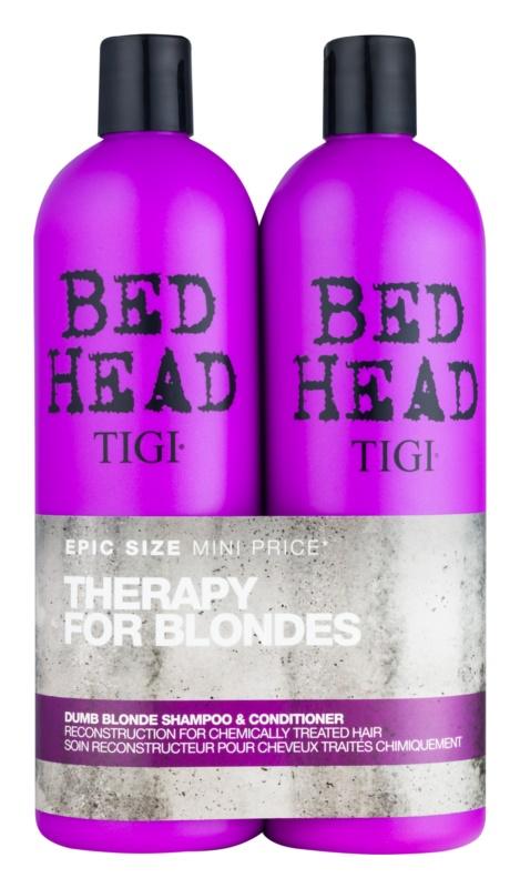 TIGI Bed Head Dumb Blonde косметичний набір VII.