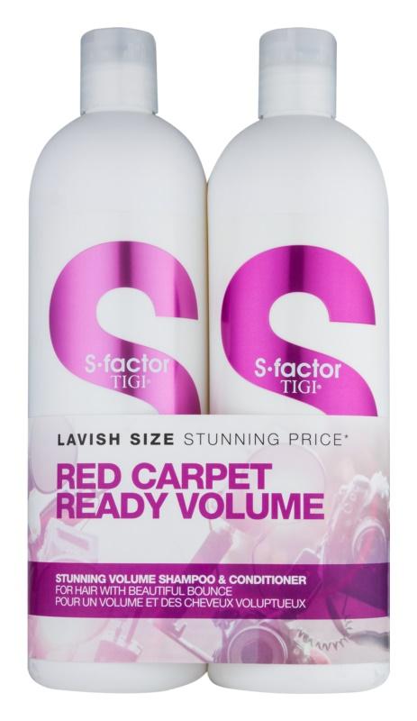 TIGI S-Factor Stunning Volume lote cosmético IV.