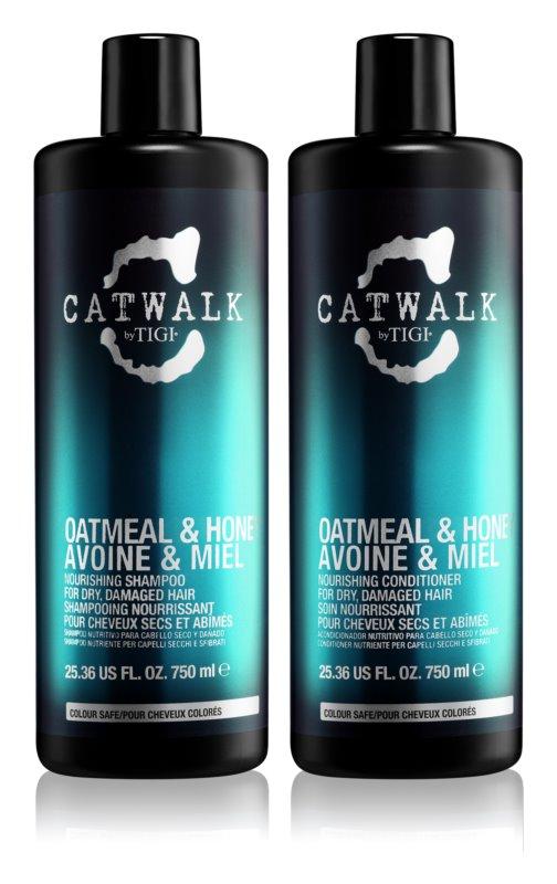 TIGI Catwalk Oatmeal & Honey lote cosmético I.
