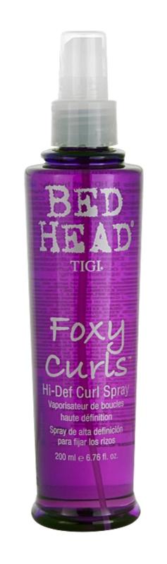 TIGI Bed Head Foxy Curls spray para cabelo ondulado