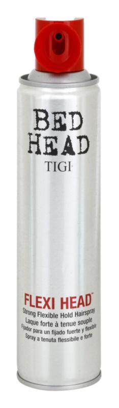TIGI Bed Head Flexi Head laca de cabelo extra forte para fixação flexível
