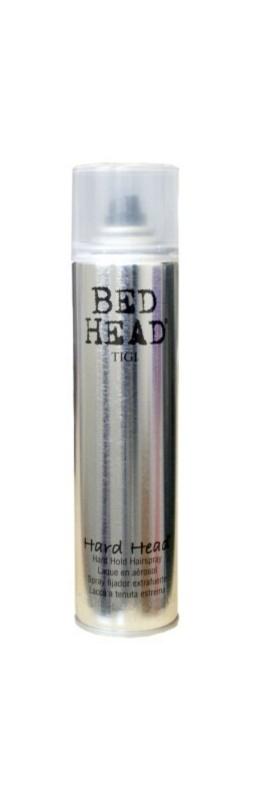 TIGI Bed Head Hard Head lak na vlasy silné zpevnění