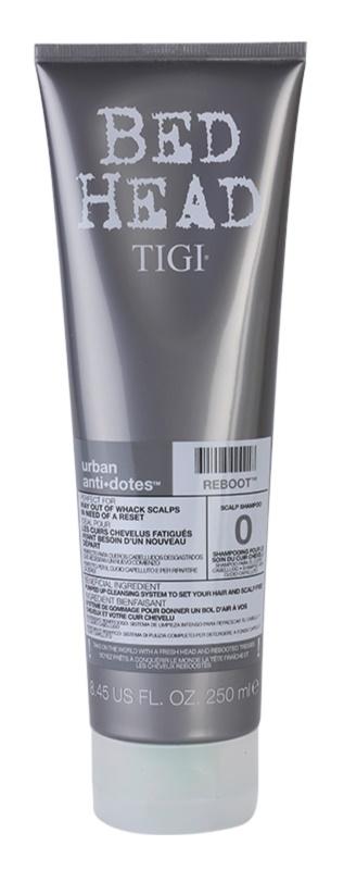 TIGI Bed Head Urban Antidotes Reboot champô para couro cabeludo irritado