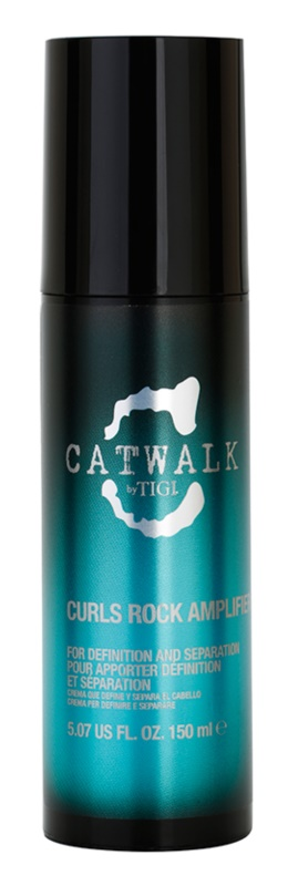 TIGI Catwalk Curlesque krém pro vlnité a trvalené vlasy