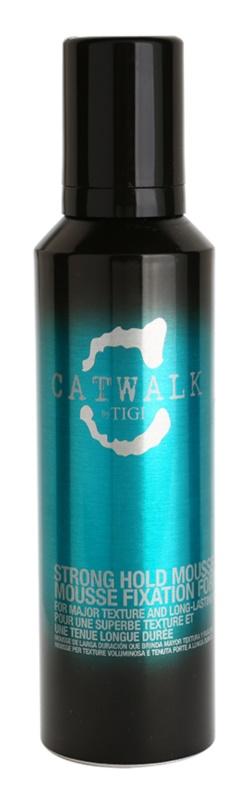 TIGI Catwalk Curlesque penové tužidlo silné spevnenie