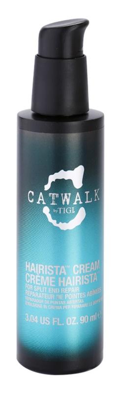 TIGI Catwalk Curlesque ošetrujúci krém na rozstrapkané končeky vlasov