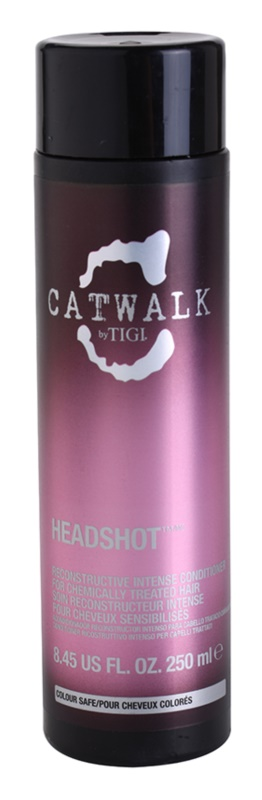 TIGI Catwalk Headshot intenzíven regeneráló kondicionáló a kémiailag kezelt hajra